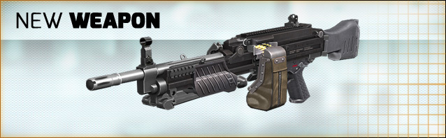 New weapon in the shop: MG4