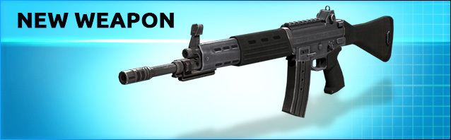 A new assault rifle: Type 89!