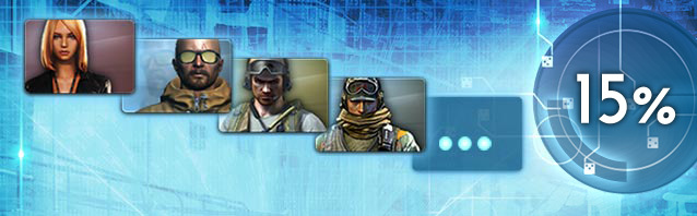 All mercenaries 15% reduced!