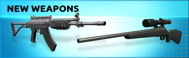 Two new weapons in the shop!