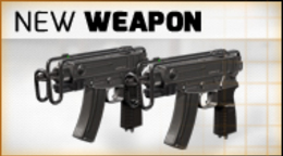 There's a cool SMG in the shop: the brand new SCORPION vz61