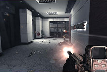 Gunfight in Corridor